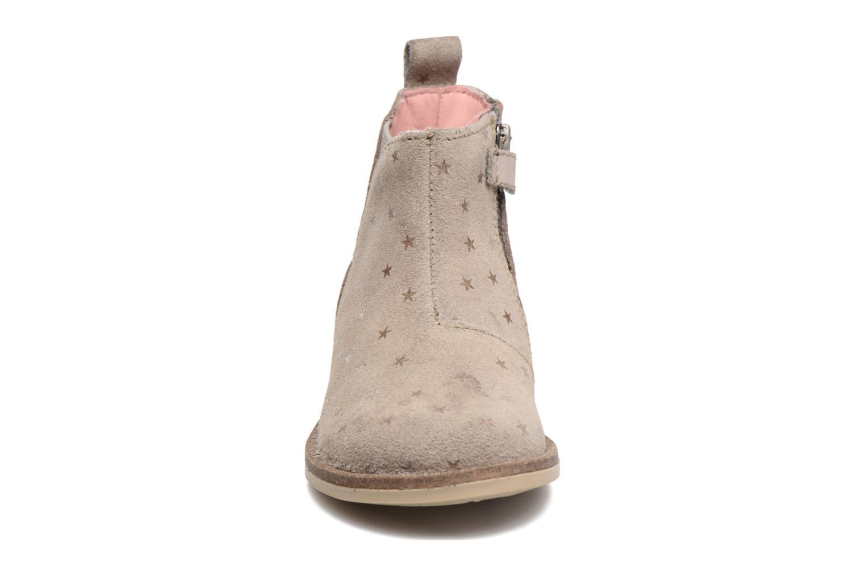 Bottines et boots Kickers Mooky Beige vue portées chaussures