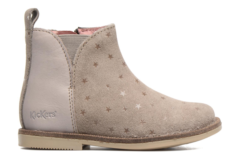 Bottines et boots Kickers Mooky Beige vue derrière
