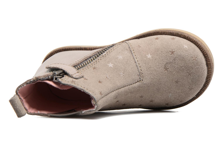 Bottines et boots Kickers Mooky Beige vue gauche