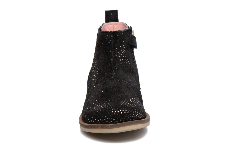 Bottines et boots Kickers Mooky Noir vue portées chaussures