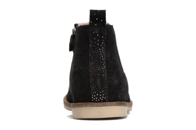 Bottines et boots Kickers Mooky Noir vue droite
