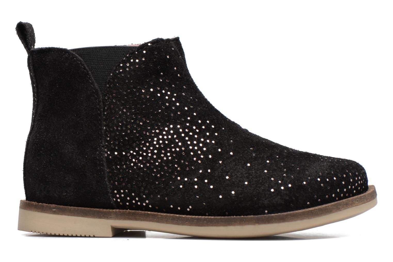 Bottines et boots Kickers Mooky Noir vue derrière