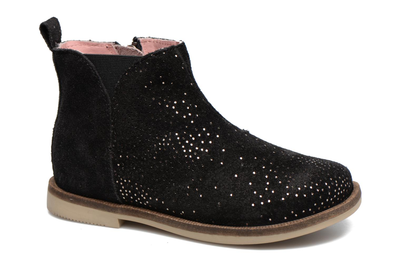 Bottines et boots Kickers Mooky Noir vue détail/paire