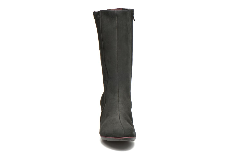Bottes TBS Klaudia Noir vue portées chaussures