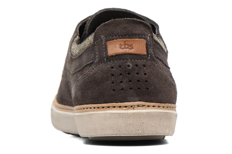 Chaussures à lacets TBS Beretta Gris vue droite