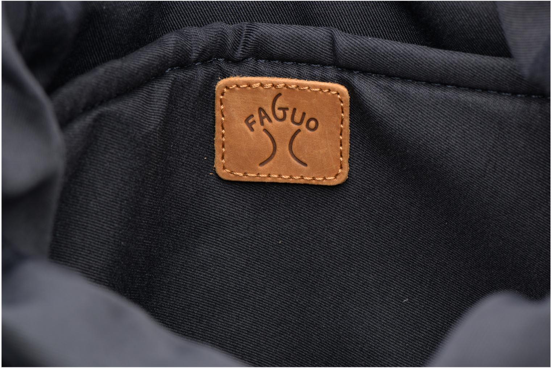 Sacs à dos Faguo Cycling Nylon Bleu vue derrière