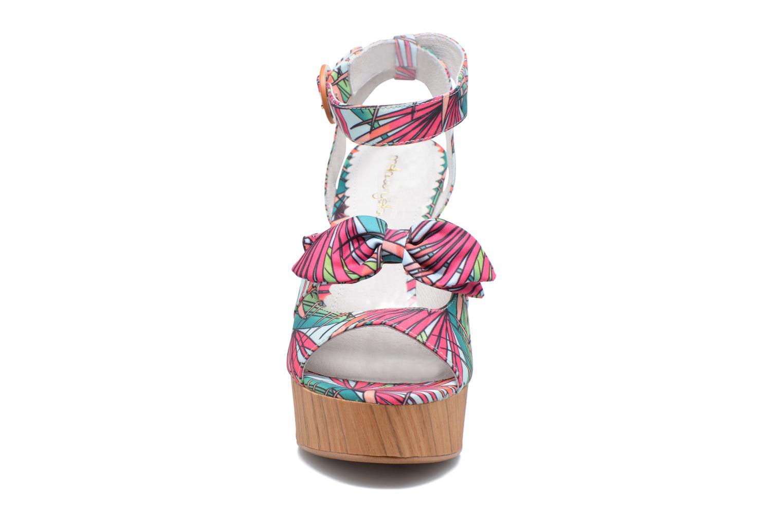 Sandals Mellow Yellow Badou Pink model view