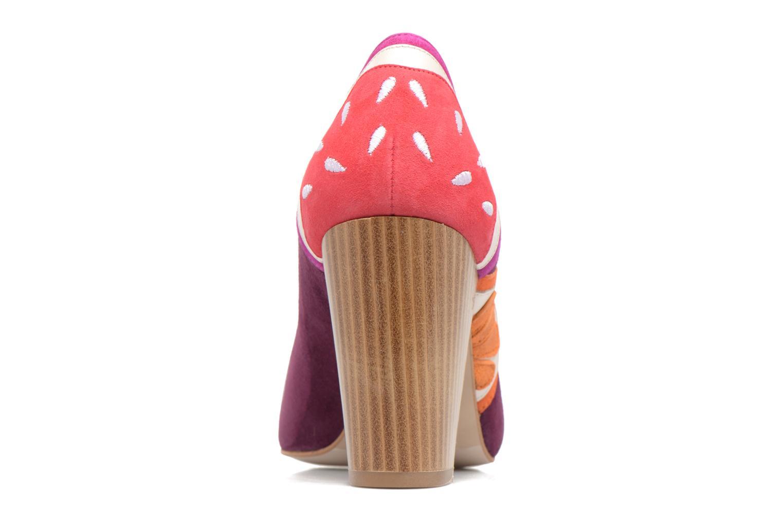 Zapatos de tacón Mellow Yellow Befruitty Violeta      vista lateral derecha