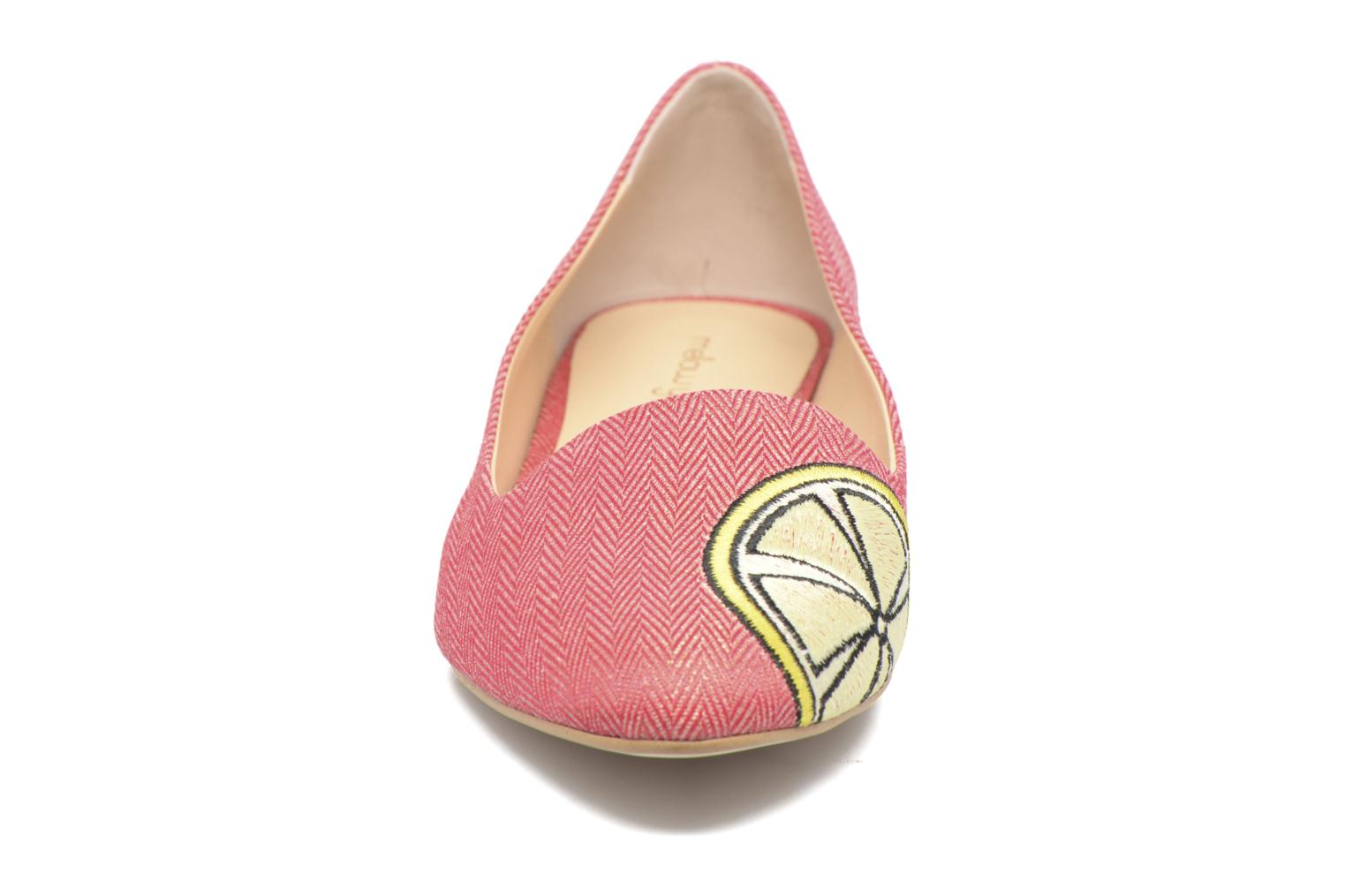Loafers Mellow Yellow Becco Pink model view