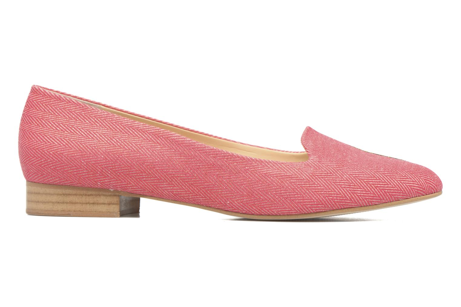 Loafers Mellow Yellow Becco Pink back view