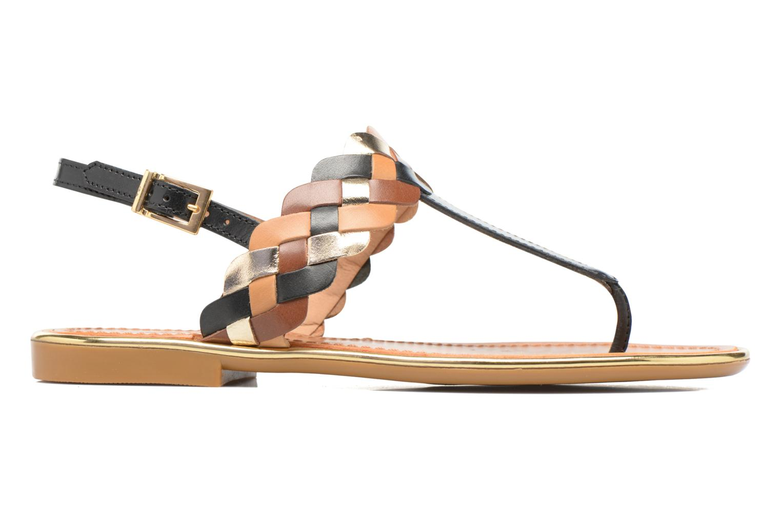 Sandals Mellow Yellow Bapo Brown back view