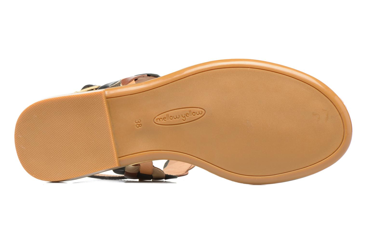 Sandals Mellow Yellow Bapo Brown view from above