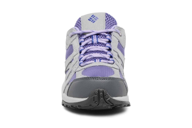 Chaussures de sport Columbia Youth Redmond Gris vue portées chaussures
