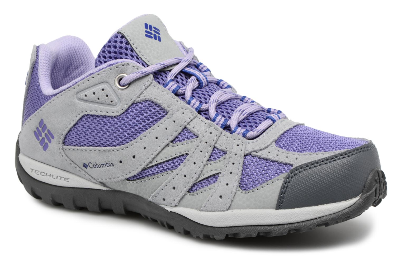 Chaussures de sport Columbia Youth Redmond Gris vue détail/paire