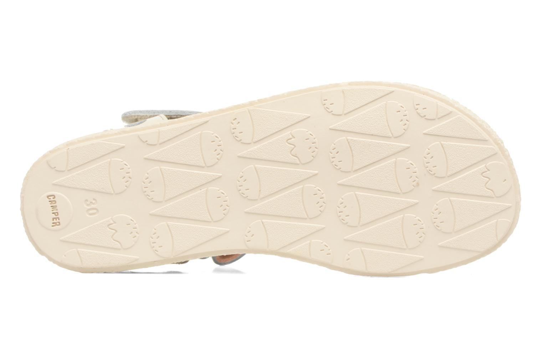 Sandales et nu-pieds Camper Miko 1 Blanc vue haut