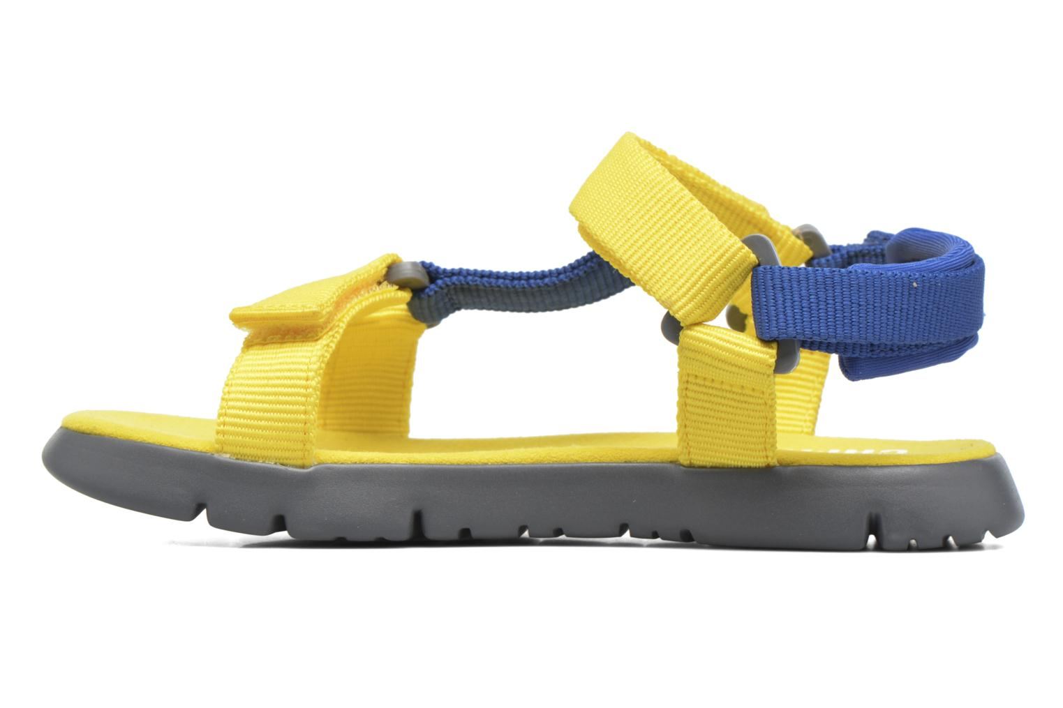 Sandals Camper Mira E Yellow front view