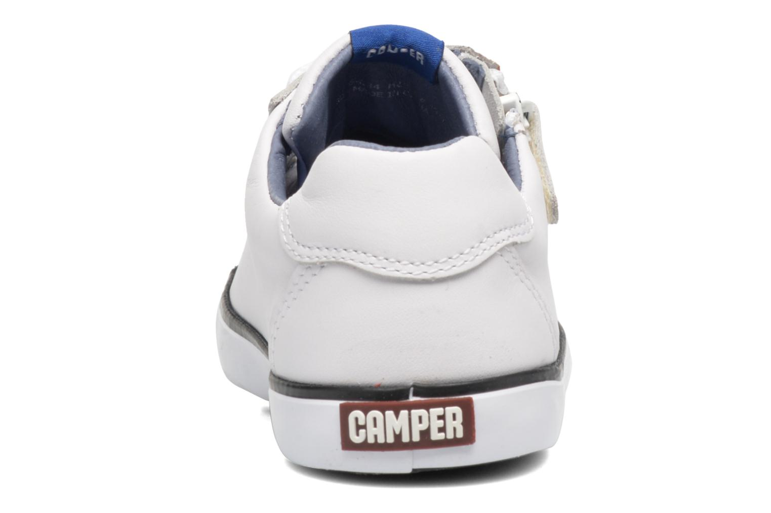 Baskets Camper Pursuit 1 Blanc vue droite