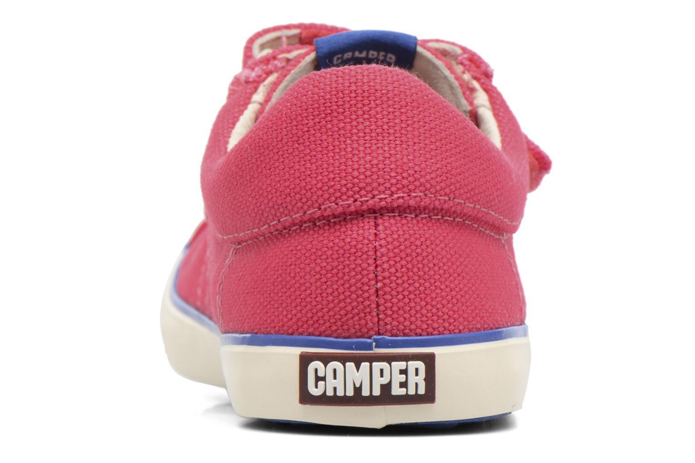 Sneaker Camper Pursuit 3 rosa ansicht von rechts