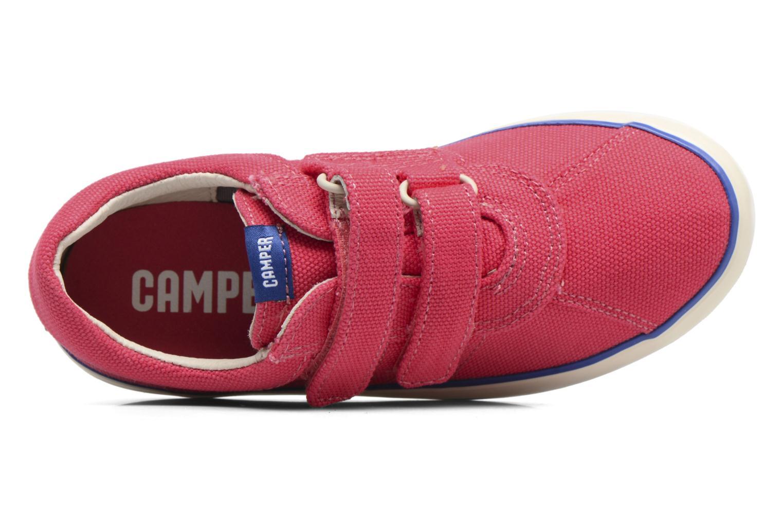 Sneaker Camper Pursuit 3 rosa ansicht von links