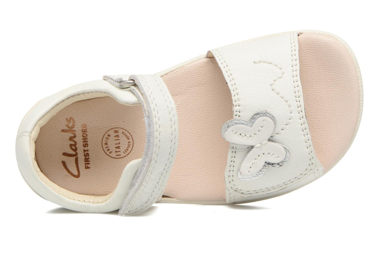 Sandales et nu-pieds Clarks Kiani Sun Fst Blanc vue gauche