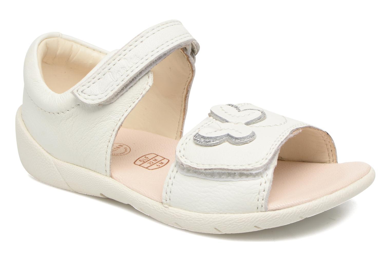 Sandales et nu-pieds Clarks Kiani Sun Fst Blanc vue détail/paire