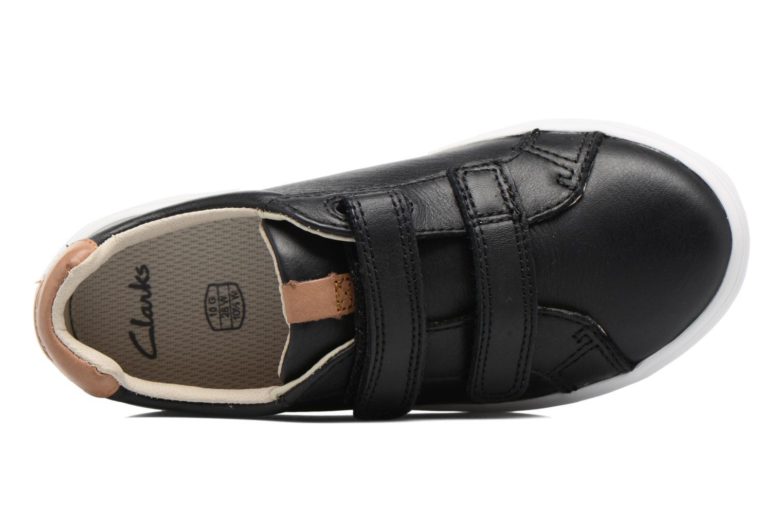 Sneakers Clarks Brill Rap Nero immagine sinistra