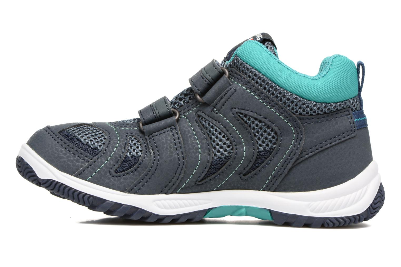 Chaussures de sport Viking Cascade 2 mid GTX Bleu vue face