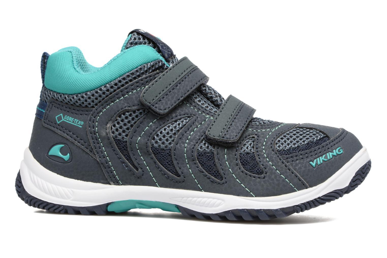 Chaussures de sport Viking Cascade 2 mid GTX Bleu vue derrière