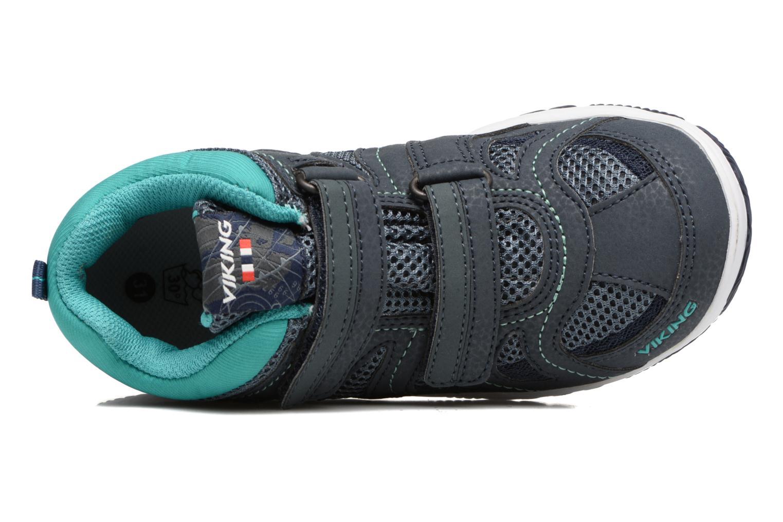 Chaussures de sport Viking Cascade 2 mid GTX Bleu vue gauche