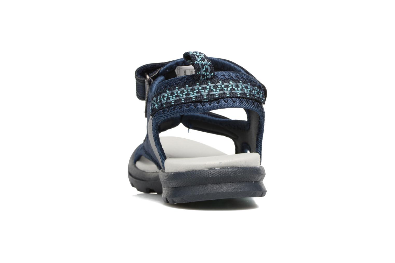 Sandales et nu-pieds Viking Skumvaer II Bleu vue droite