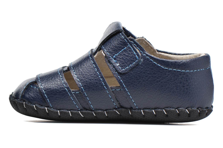 Pantofole Pediped Ross Azzurro immagine frontale