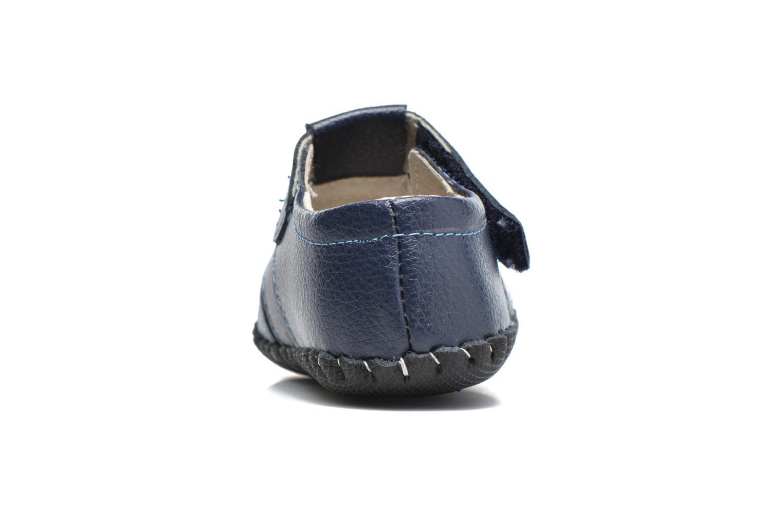 Pantofole Pediped Ross Azzurro immagine destra