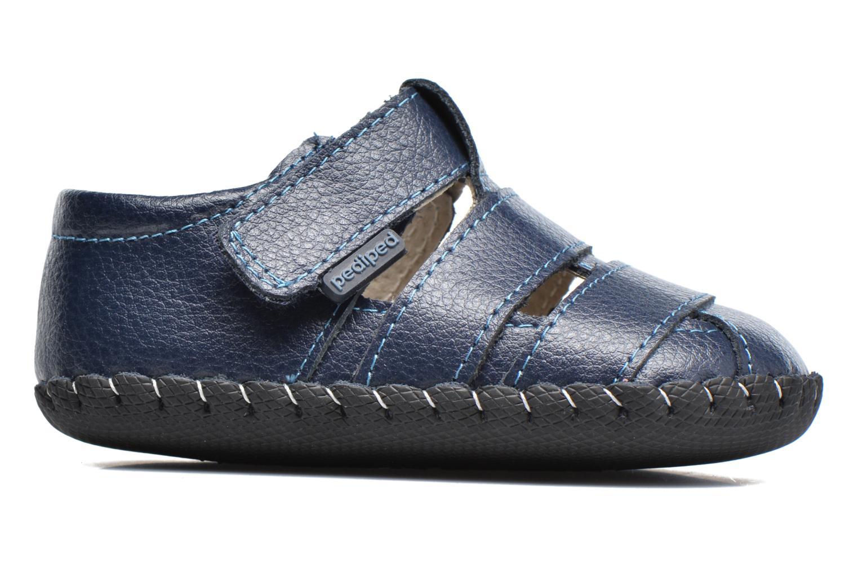 Pantofole Pediped Ross Azzurro immagine posteriore