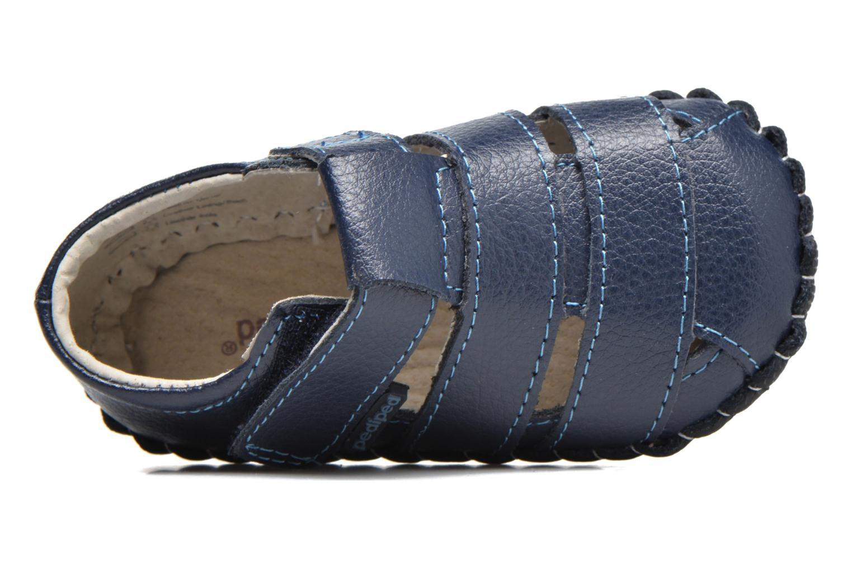 Pantofole Pediped Ross Azzurro immagine sinistra
