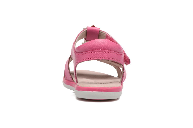 Sandales et nu-pieds Pediped Sidra1 Rose vue droite