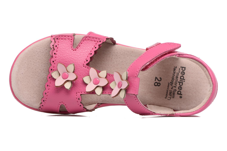 Sandales et nu-pieds Pediped Sidra1 Rose vue gauche