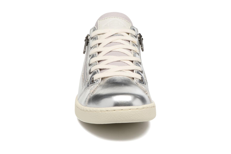 Baskets P-L-D-M By Palladium Malo Mtl Argent vue portées chaussures