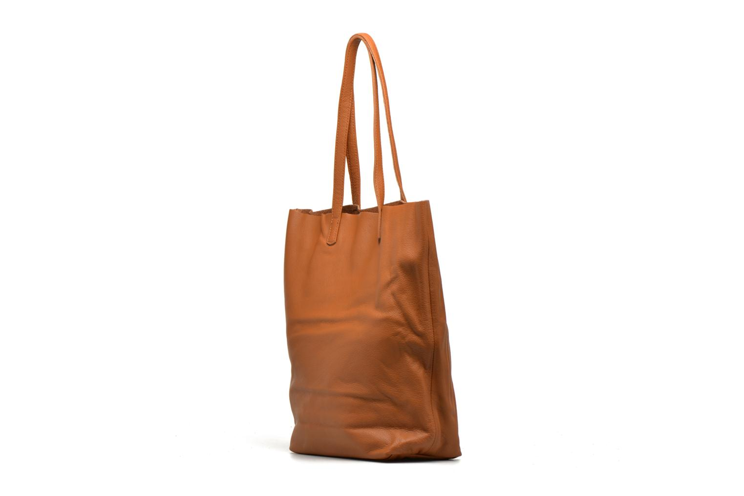 Handbags Liebeskind Berlin Viki Brown view from the right