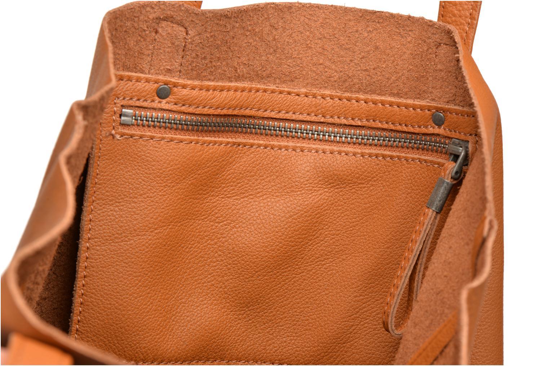 Handtaschen Liebeskind Berlin Viki braun ansicht von hinten