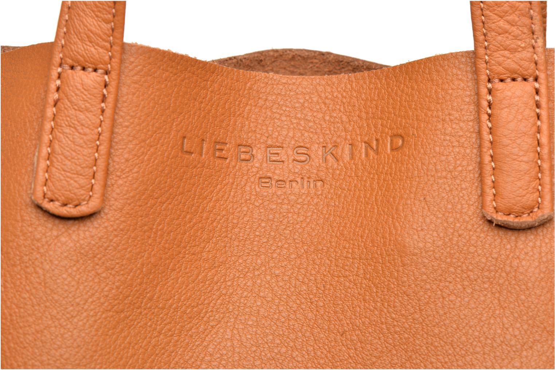 Handtaschen Liebeskind Berlin Viki braun ansicht von links