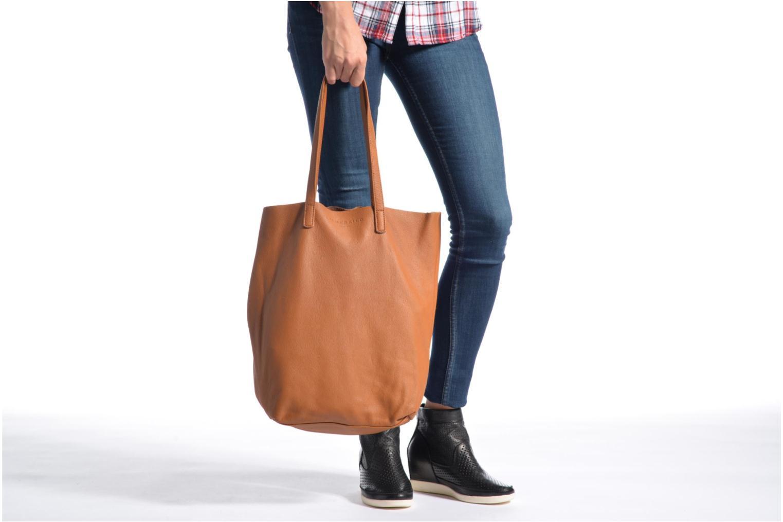 Handtaschen Liebeskind Berlin Viki braun ansicht von oben