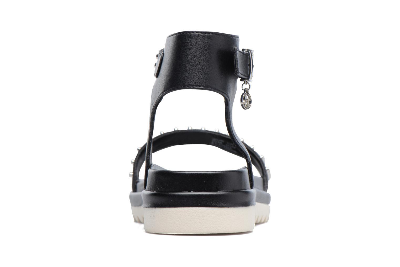 Sandales et nu-pieds Armani Jeans Carla Noir vue droite