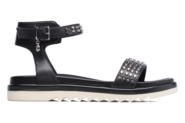 Sandales et nu-pieds Armani Jeans Carla Noir vue derrière