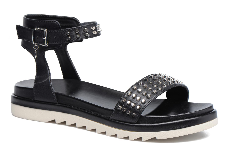 Sandales et nu-pieds Armani Jeans Carla Noir vue détail/paire