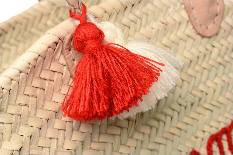 Panier artisanal Summer Rouge Rouge