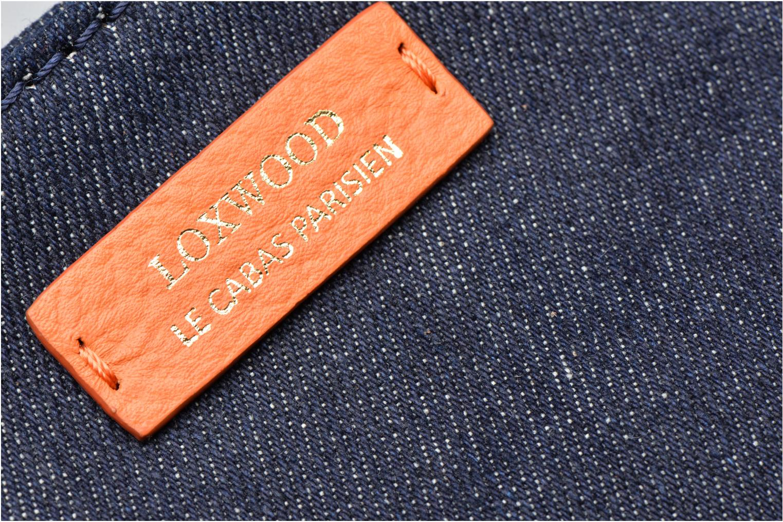 Handtaschen Loxwood Shopper blau ansicht von links