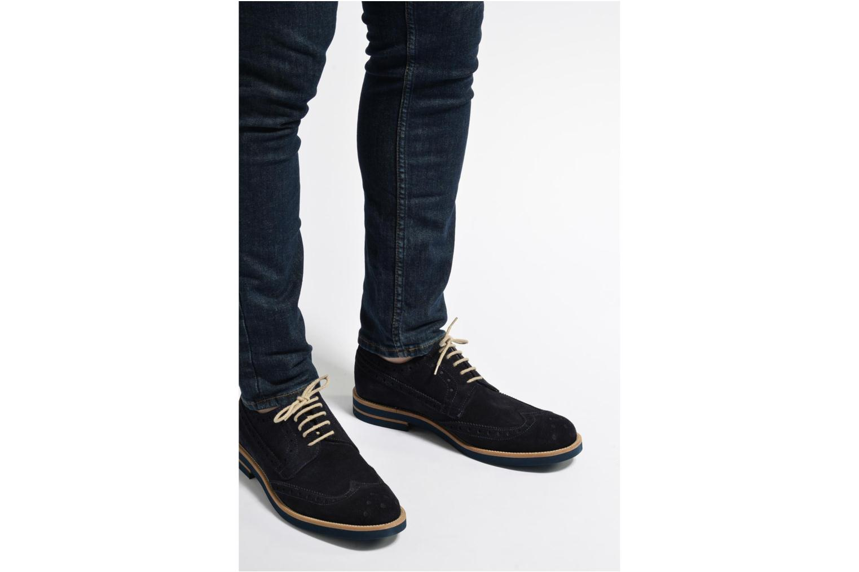 Scarpe con lacci Mr SARENZA Coquitlam Azzurro immagine dal basso