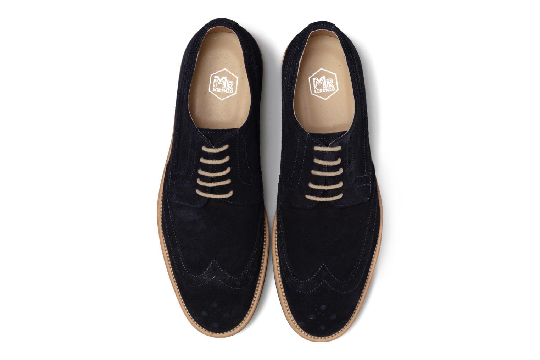 Scarpe con lacci Mr SARENZA Coquitlam Azzurro modello indossato