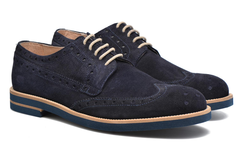 Scarpe con lacci Mr SARENZA Coquitlam Azzurro immagine posteriore
