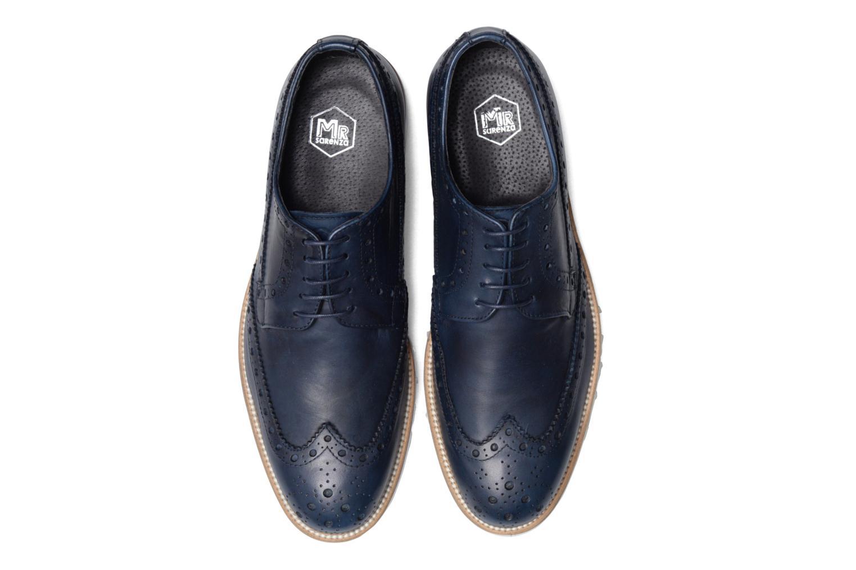 Chaussures à lacets Mr SARENZA Cranbrook Bleu vue portées chaussures